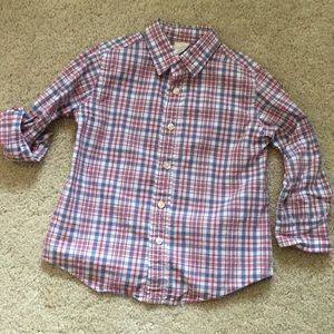 Crewcuts boys shirt size 3